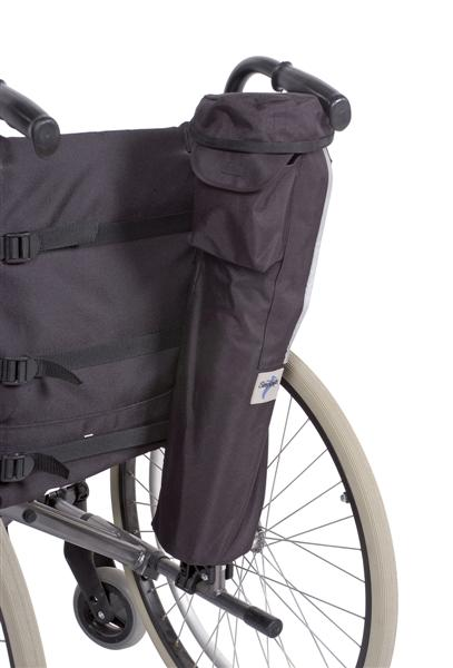 Oxygen Bag on Wheelchair