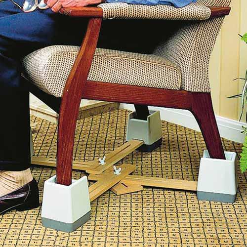 & Langham Adjustable Chair Raiser