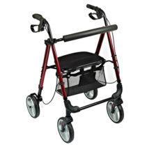 Lightweight Four Wheeled Rollator