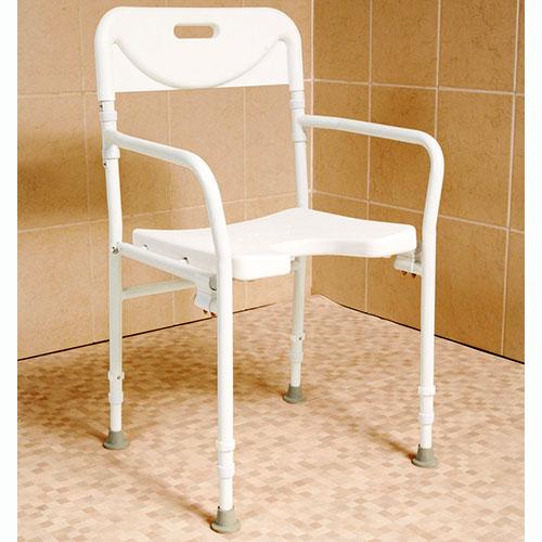 folding shower chairs for elderly 2