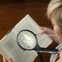 Hands Free Magnifier with Light