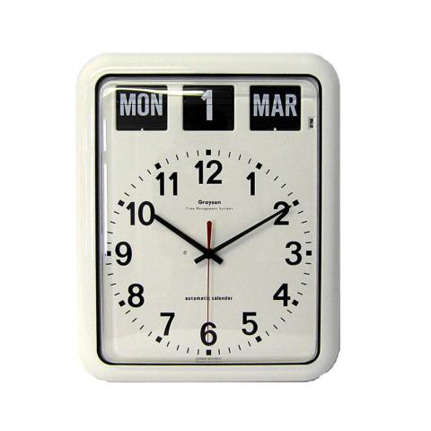 Large Calendar Wall Clock