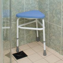 PU Padded Corner Shower Stool