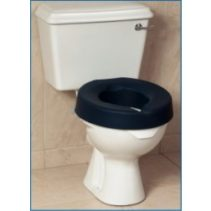 Prima Raised Toilet Seat With Padded Cover