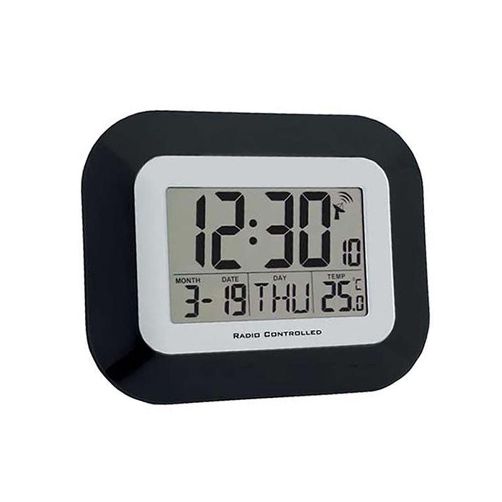 Radio Controlled LCD Digital Calendar Clock