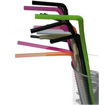 One Way Flextendable Straws - Pack of 15
