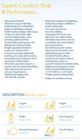 Royale 4 Sport Description