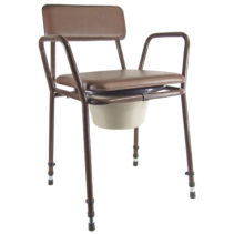 Essex Height Adjustable Stacking Commode